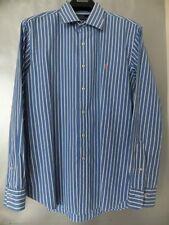 Polo by Ralph Lauren Herren Hemd Curham Custom Fit blau/weiß Gr.16,5