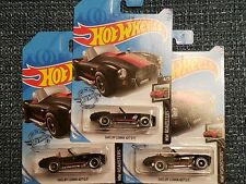 2020 Hot Wheels L CASE Shelby Cobra 427 S/C~lot of 3~FREE SHIPPING