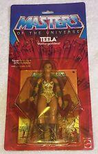 Masters of the Universe TEELA vintage MOTU unused MOC 1983 TALE OF TEELA comic