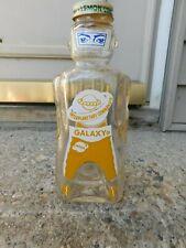New ListingVintage Galaxy Saturn Lemon Lime Syrup Bottle W/Bank Lid
