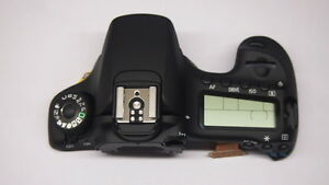For Canon EOS 60D top cover unit flash function dial Repair parts