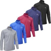 STUBURT GOLF MENS URBAN THERMAL 1/4 ZIP WINDPROOF FLEECE SWEATER 40% OFF RRP