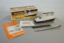 Moulinex 246 Messer Elektromesser Tranchiermesser Fleischmesser in OVP Vintage