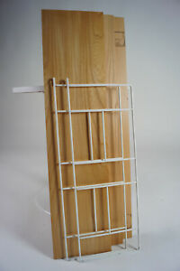 60er Bookcase Vintage String Shelf Birch Tree Wall Shelf Danish Shelf System 6