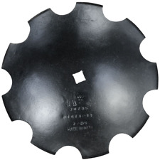 """Replacement 18"""" x 3mm Thick Notched Disc Blade 1"""" Sch 1-3/4"""" Conc"""