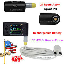 Handheld Pulse Oximeter SpO2 Monitor,human use,blood oxygen,CMS60C,Software,USA