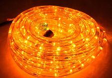 GEV LED Lichtschlauch Gelb 9m Innen Außen IP44 + Netzteil Lichterschlauch