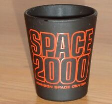 SPACE 2000 Johnson Space Center black shot glass