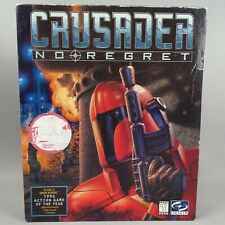 CRUSADER No Regret PC Game 1996 Big Box OrigiN CDRom MS-DOS Vintage Action