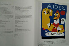 """JOAN MIRÓ - """" POSTERS  AFFISCHER"""", Malmö ( English and Swedish.)`,220 X 290 mm."""