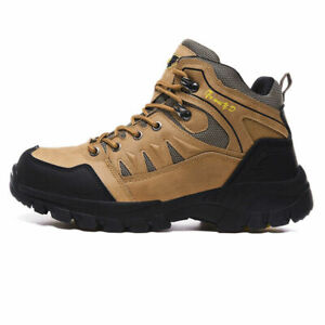 Mens Hiking Shoes Trekking Climbing Boots Outdoor Sports Athletic Shoe Plus Size