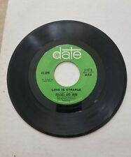 PEACHES and HERB 45 RECORD - LOVE IS STRANGE / IT'S TRUE I LOVE YOU. 1967