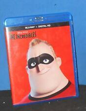 Disney - Pixar The Incredibles (Blu-Ray Disc, 2016, 2-Disc Set)