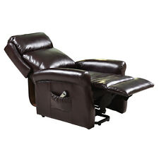 Electric Luxury Power Lift Recliner Chair Leather Lazy Affordable Livingroom N