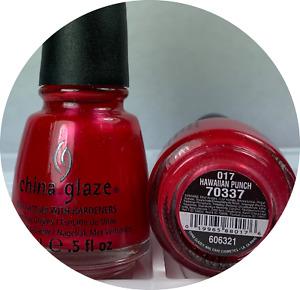 China Glaze Nail Polish * Hawaiian Punch - 017 #70337