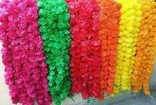 Indian Wedding Decoration Artificial Marigold Flower Garlands Bright Wholesale