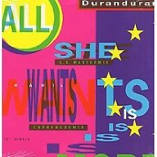 """Duran Duran-All She Wants Is 12""""-EURO DUB MIX-RARE!!!!!!!!!!!!!!!!!!!!!!!!!!!!!!"""
