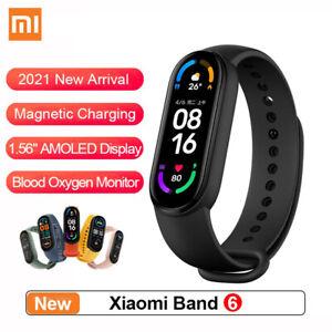 "Xiaomi Mi Band 6 Smart Bracelet 1.56"" AMOLED Screen Fitness Tracker Bluetooth5.0"