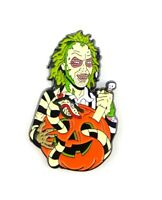 Beetlejuice Enamel Pin - Halloween Pin Horror Pin Gothic Pin 80s Classic Pin