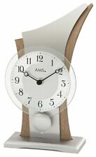AMS -quartzpendel-tischuhr 26cm- 1139 moderne Horloge de table avec