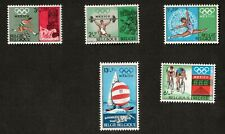 Belgium Mexico Lot of 5 Stamps