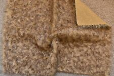 Top quality Schulte Curly Ratinee Brown tipped Mohair.  Great to work with.