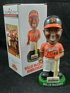 San Francisco 2019 Willie McCovey Jr Giants Stretch Drive Donation Bobblehead