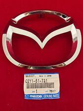 New OEM Genuine Mazda 2 3 5 6 MazdaSpeed6 Front Grille Mazda Emblem C235-51-731