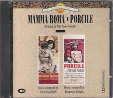 """CARLO RUSTICHELLI - RARO CD 1992 CELOPHANATO """" MAMMA ROMA / PORCILE """" B. GHIGLIA"""