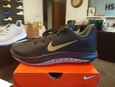 Brand New Nike FLY BY LOW MENS BASKETBALL SHOES 908973-090 SIZE 12  BLACK