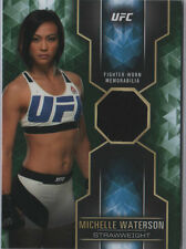MICHELLE WATERSON 2017 Topps UFC Knockout Fighter Worn Relic GREEN 49/50