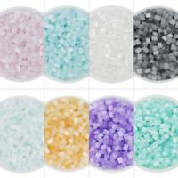 350pcs DIY Bicolor Glass Beads Kits Bracelet Jewelry Accessories Crafts Making