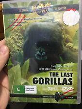 The Last Gorillas brand NEW/sealed region 4 DVD (Jules Verne documentary) RARE