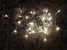 4M LED Draht Mikro AA Batterie Lichterkette 40 LEDs warmweiß biegsam Mini LED