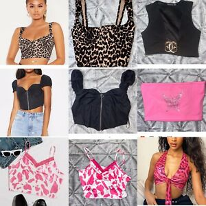 Collection Sexy Going  Out Tops Pretty Little Thing And SHEIN Size 10  - Medium