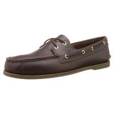 Sperry 0195214-105M Men's A/O Amaretto Leather Shoe, 10.5M US Size