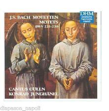 Bach: Motets Bwv 225-230 / Junghänel, Cantus Cölln CD