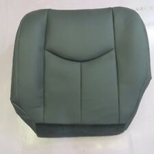 03-07 GMC Truck SUV Diesel GAS LT Driver  Bottom  Leather seat cover  GRAY  922