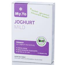 My.Yo Joghurtferment Mild zur Joghurtherstellung Bio-Zertifiziert NEU