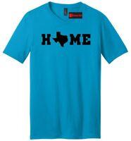 Home Texas Map Soft Mens V-Neck T Shirt Texas Pride Texan Lonestar State Tee