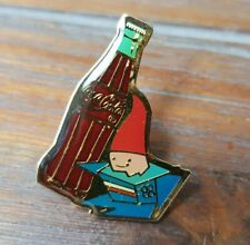 PINS BOUTEILLE COCA COLA JO ALBERTVILLE 1992 MASCOTTE WINTER OLYMPICS