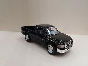 Dodge Ram Black kinsmart TOY car model 1/44 scale diecast metal open doors new