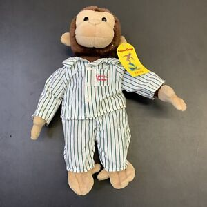 Vintage Curious George Plush Toy Doll Stuffed 80s 90s NWT Gund TV Movie
