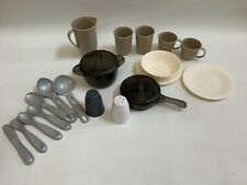 Step2 Play Kitchen Interactive Pots & Pans,Dishes, Salt & Pepper, Silverware.
