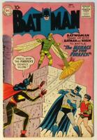 Batman #126 Silver Age Issue. (DC 1959) VG+ condition.