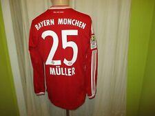 FC Bayern München Adidas Langarm Trikot 2013/14 + Nr.25 Müller Gr.S- M Neu