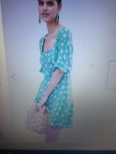 ASOS DESIGN square neck skater dress in ditsy floral.14-see note below!*NEW*
