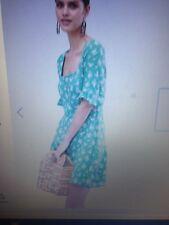 Asos Diseño Cuello Cuadrado Vestido Patinador en Ditsy Floral .14-see nota a continuación! * Nuevo *
