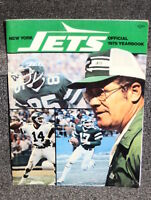 1979 NEW YORK JETS YEARBOOK SIGNED BY 14 DIFF INCLUDING GASTINEAU LYONS TODD