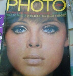 Magazine Photo n°23 août 1969 expo photo new york les suédoises sarah moon